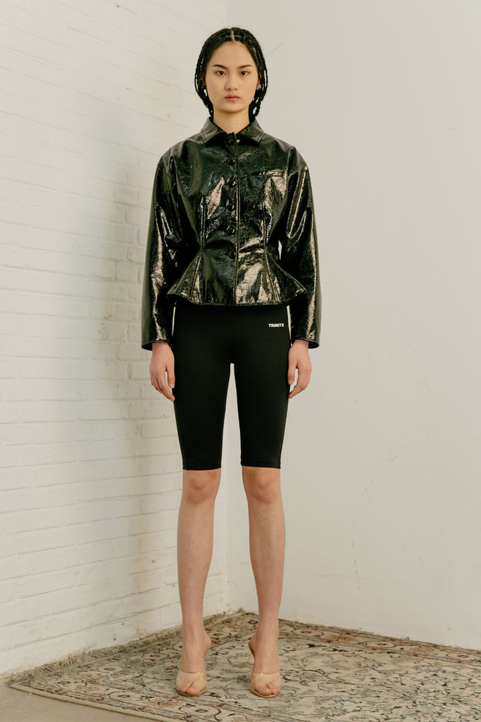 Patent Leather Jacket