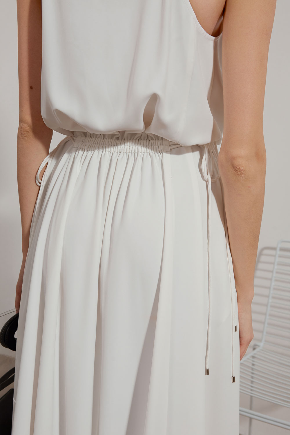 Sleeveless V-Neck Dress