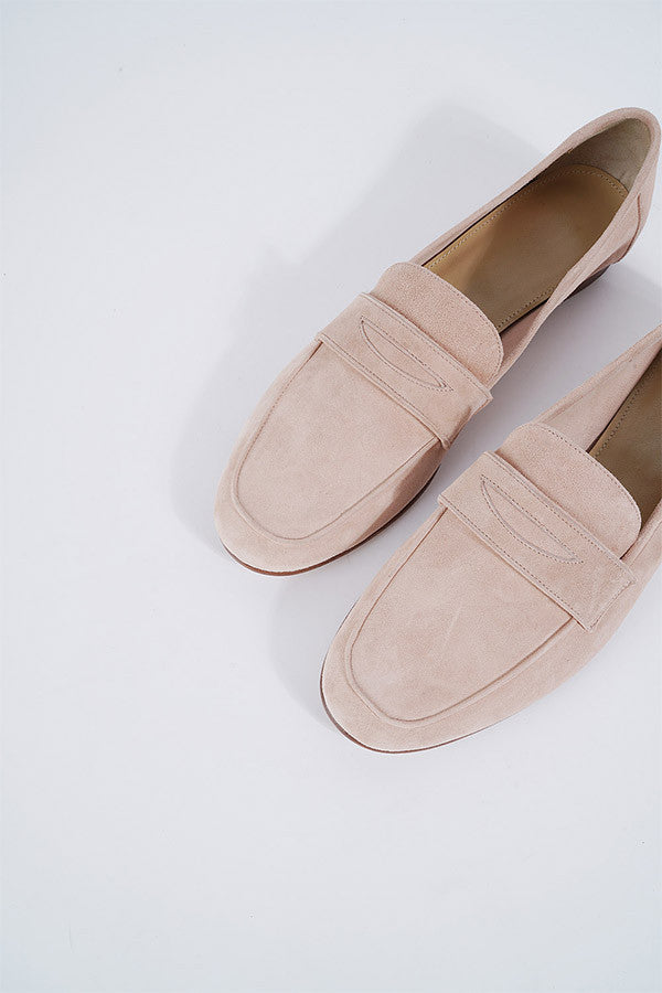 Flat Suede Loafer
