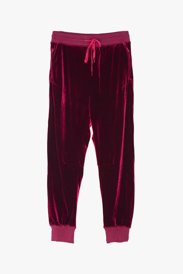 Silky Velvet Sweatpants