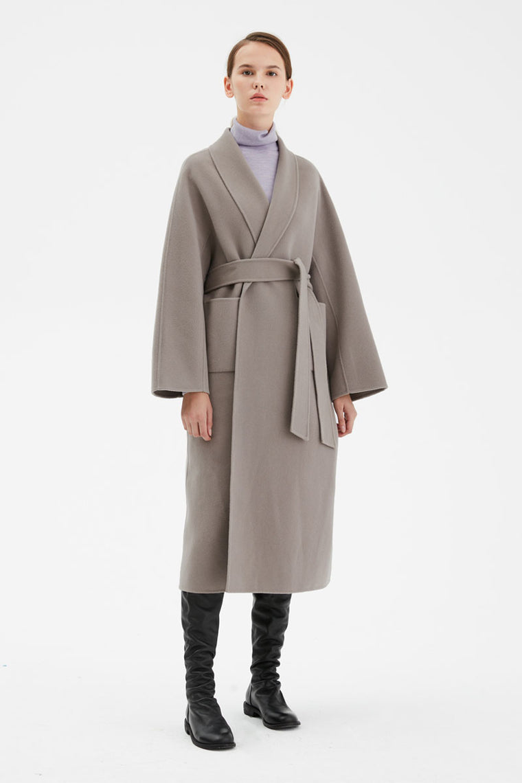 Belted Robe Coat