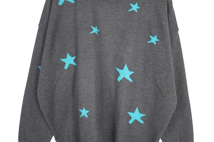 Starry Knit Sweater