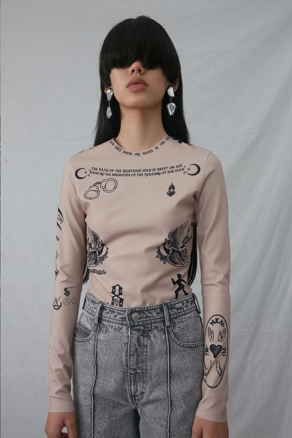 Tattoo Print Shirt