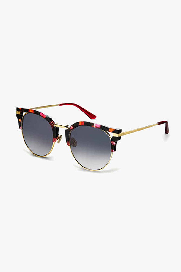 Cat-Eye Mirrored Sunglasses