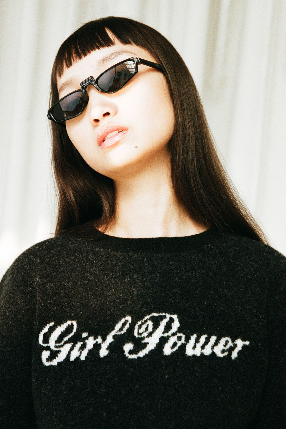 Girl Power Fitted Sweater