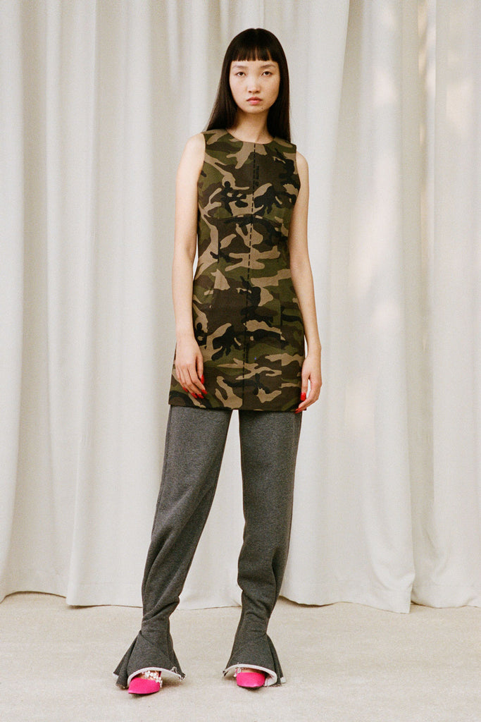 Camouflage Long Top