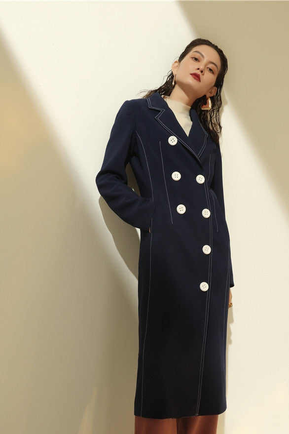 Button Front Midi Jacket