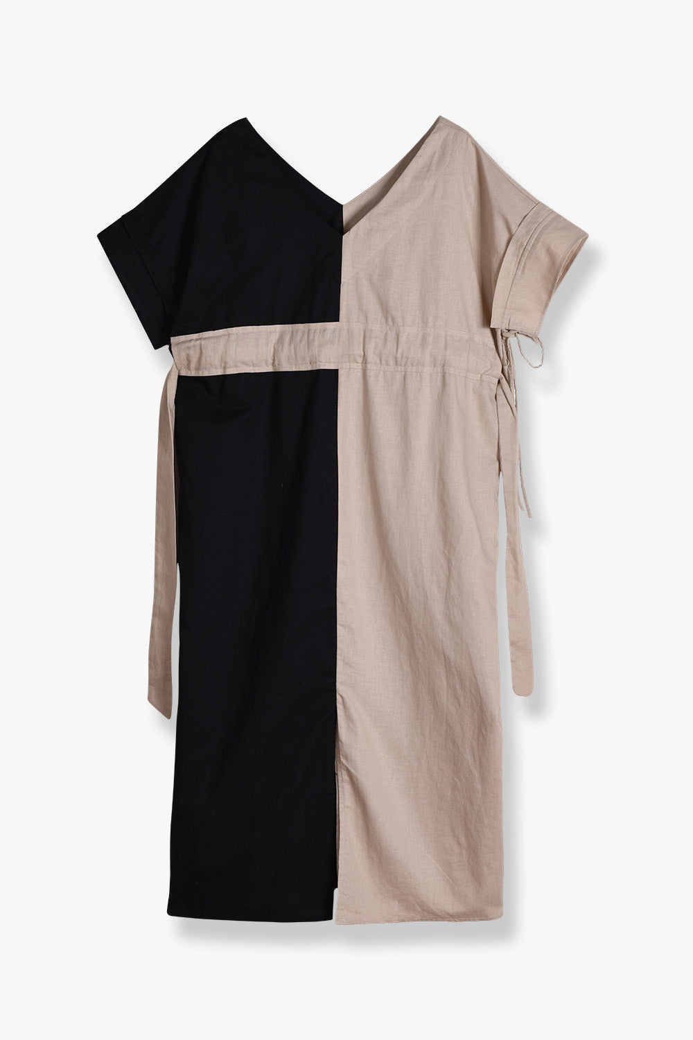 Oversized V-Neck Dress