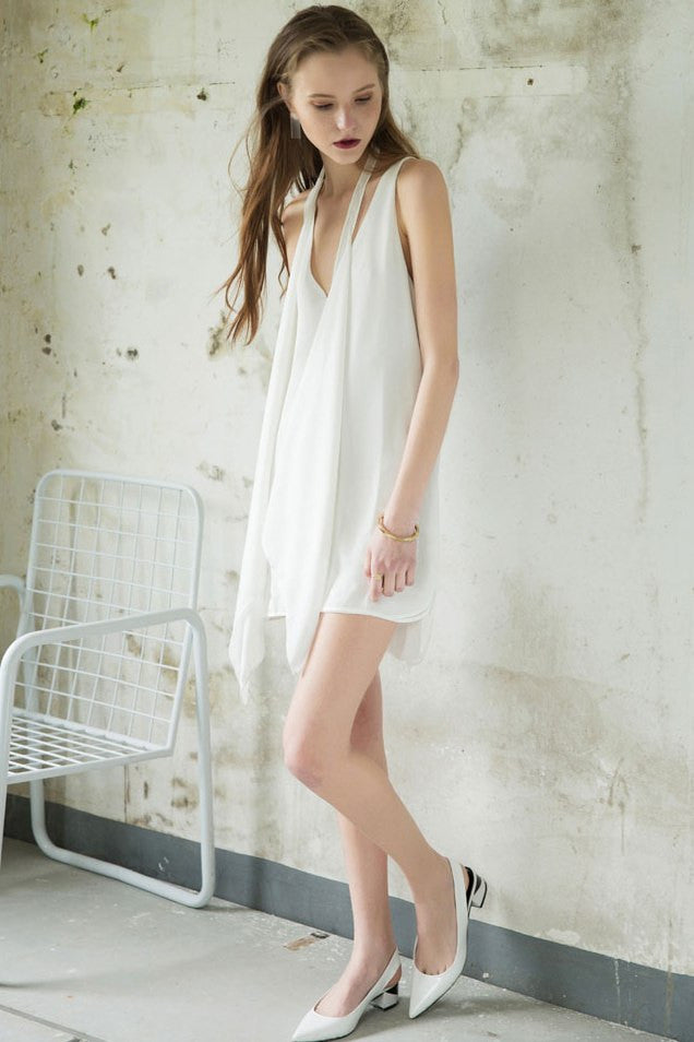 Chiffon Mini Dress