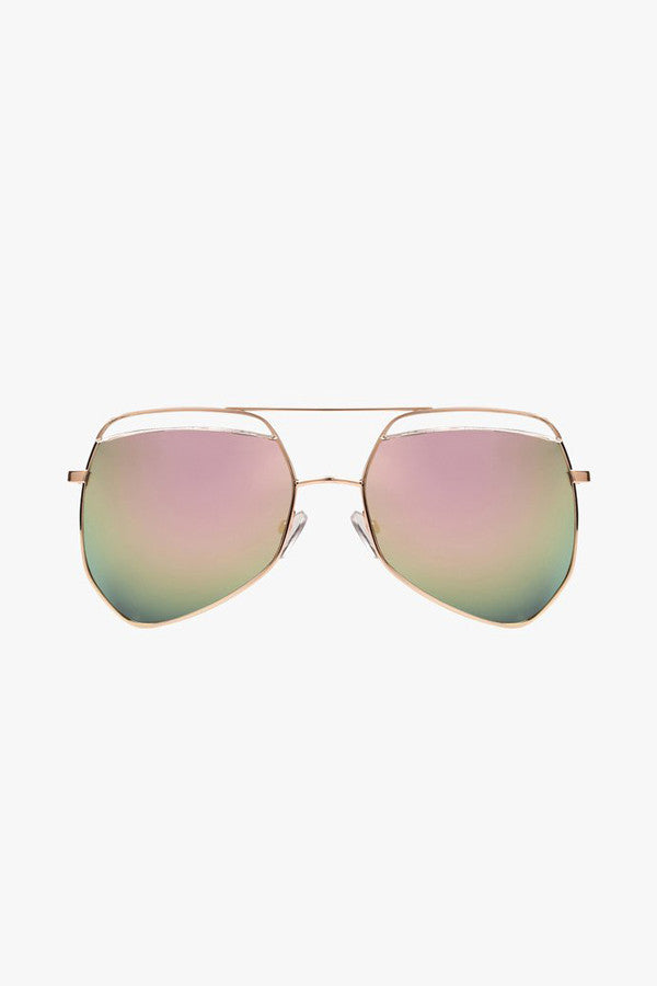 Mirrored Oversized Sunglasses