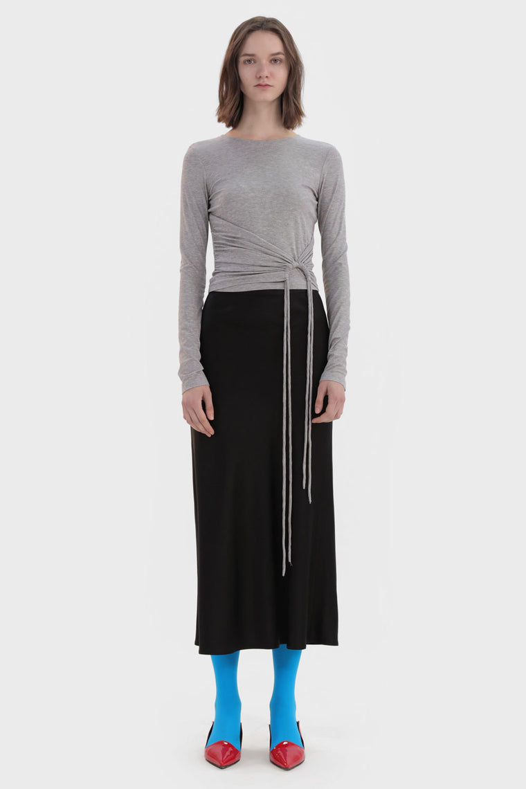 Pleated Waist Shirt