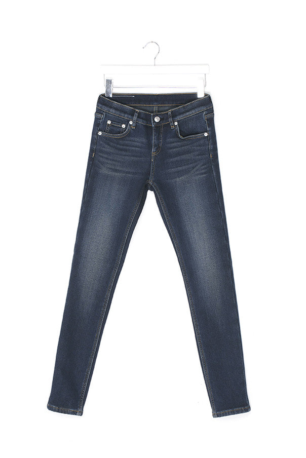 Thick and Dense Stretch Jeans