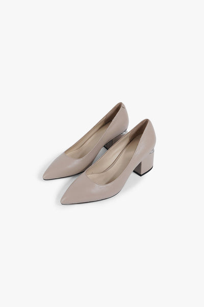 Pointed Leather Pump
