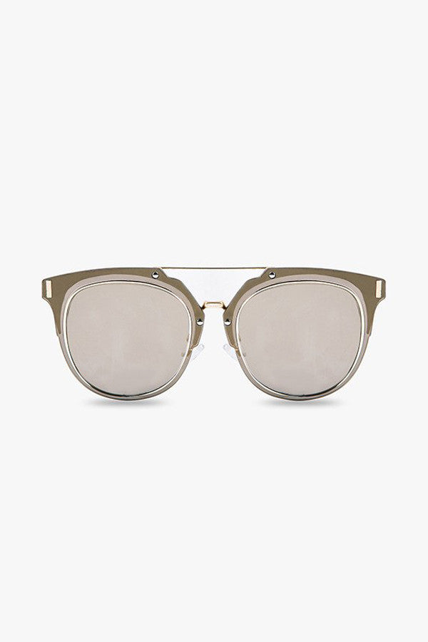 Dust Gold Mirrored Sunglasses