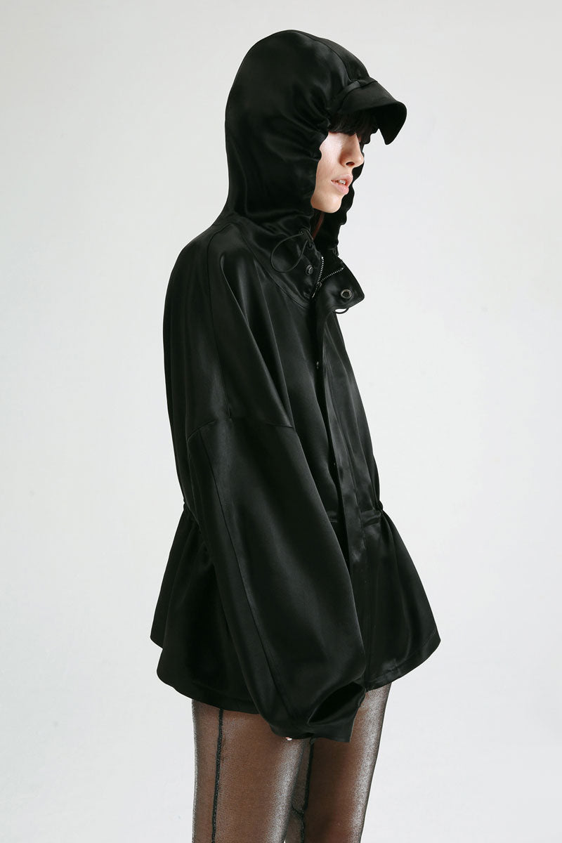 Hooded Short Jacket