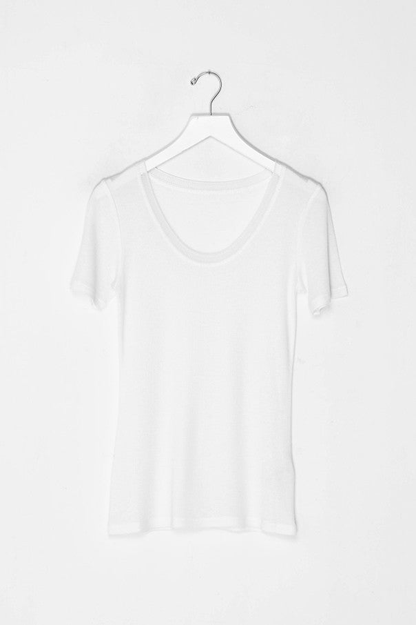 Short Sleeved Round Neck Shirt