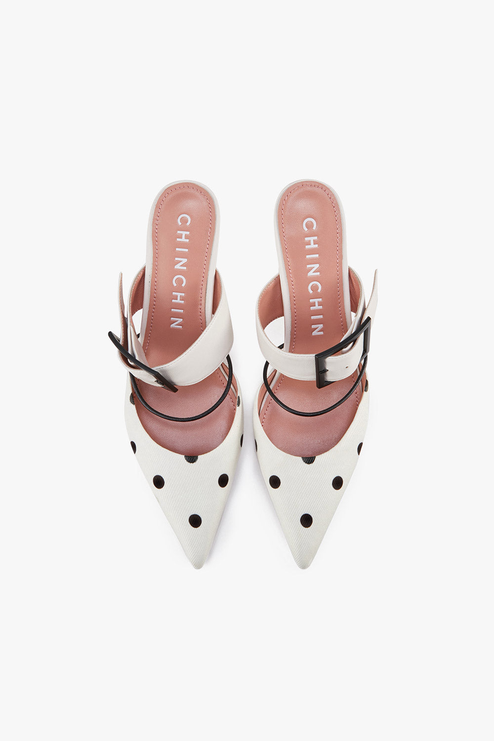 Pointed Toe Mule Pumps