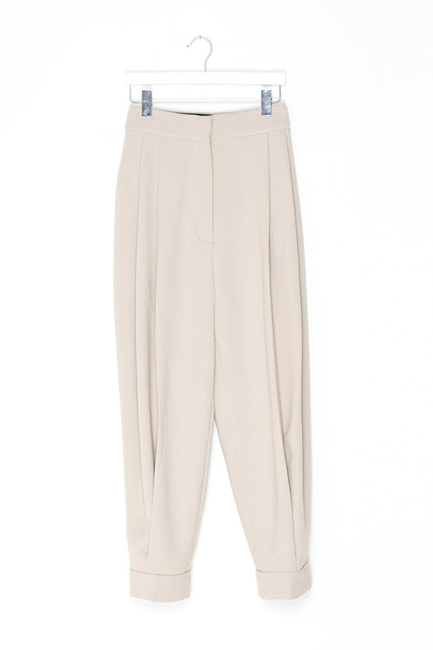Wide Leg Oversize Silky Trousers