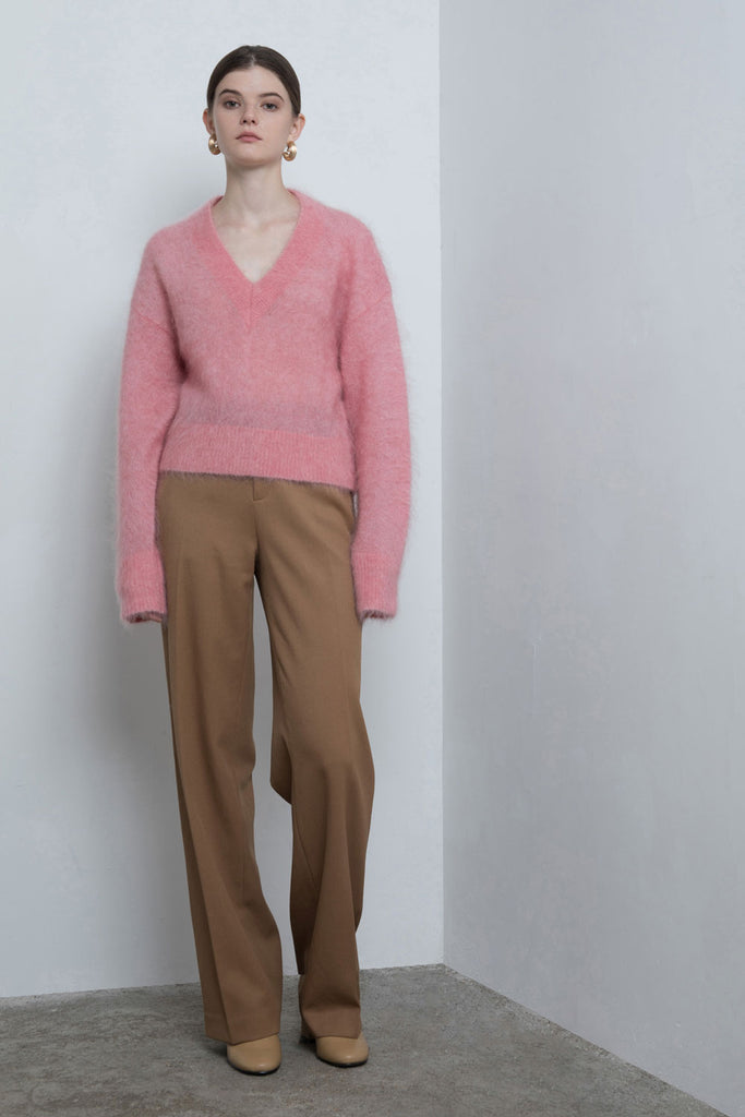 Mohair Crop Sweater