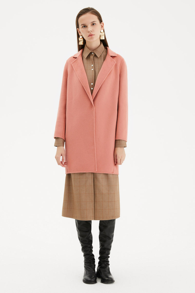 Textured Wool Short Coat