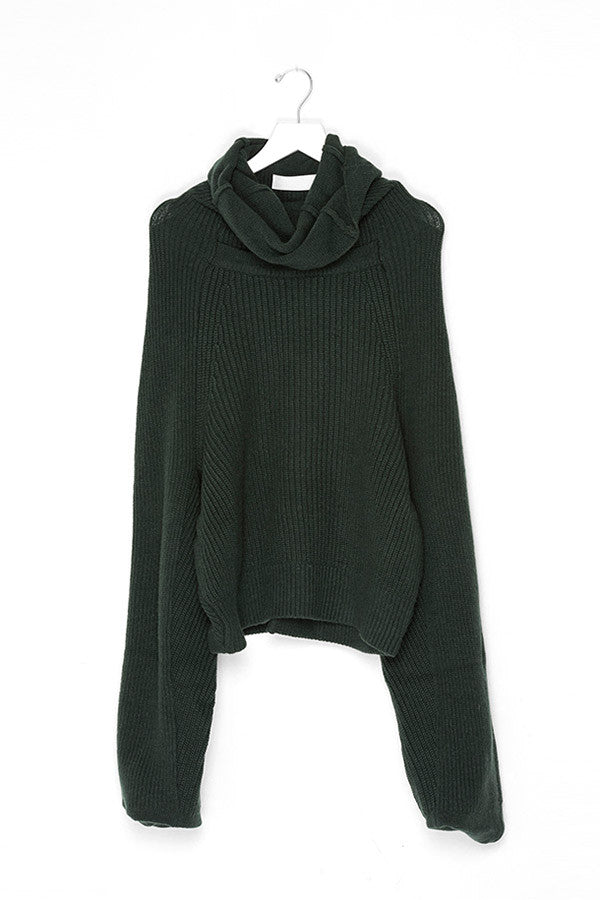 Long Sleeve High Neck Pullover Sweater