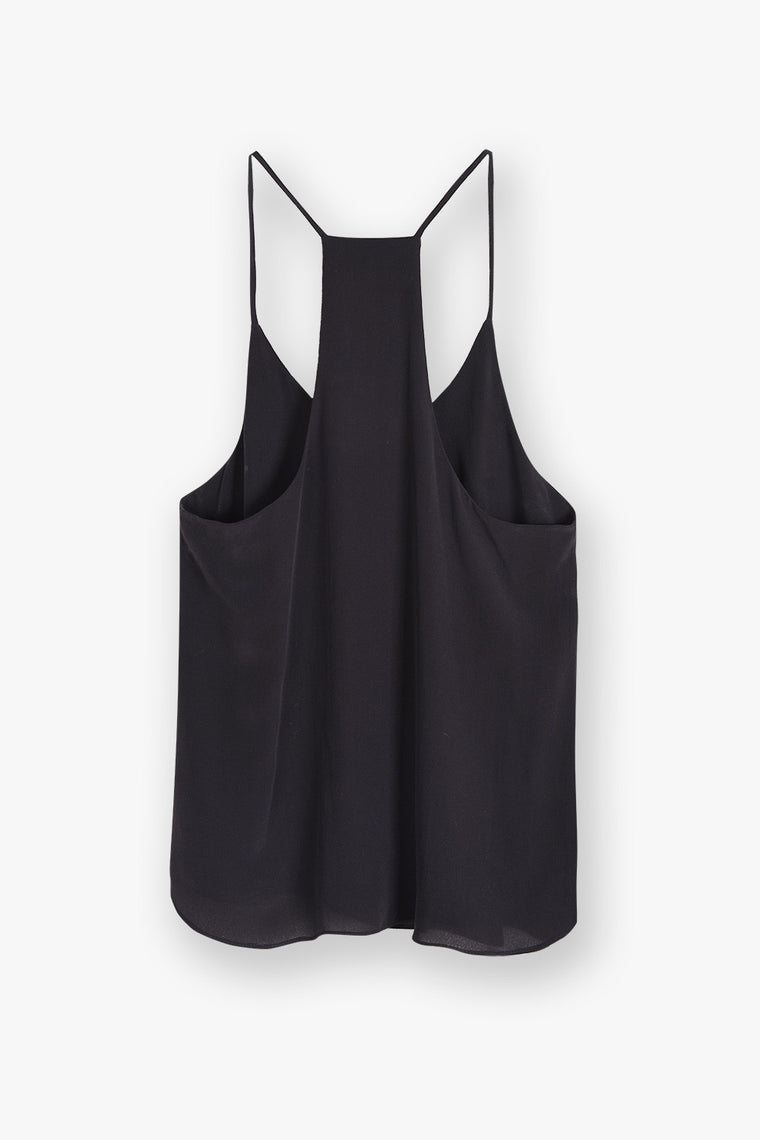 Silk Racerback Slip Top