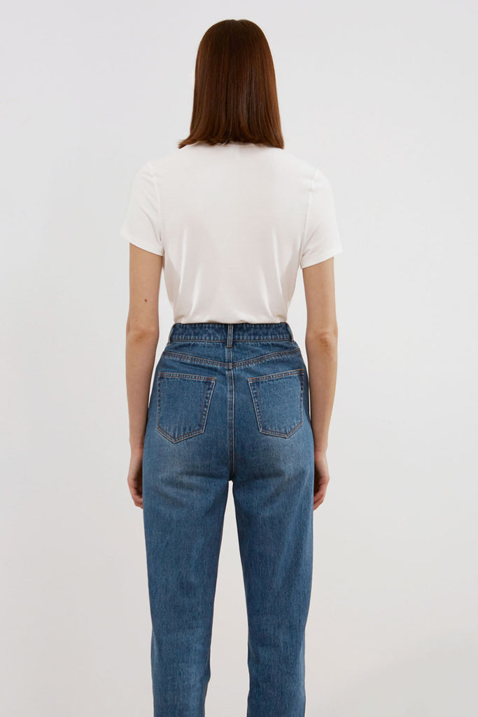 High-Rise Mother Jeans