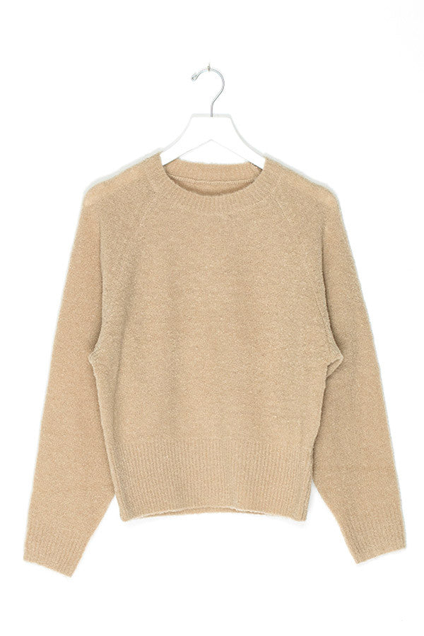 Knit Crop Wool Sweater