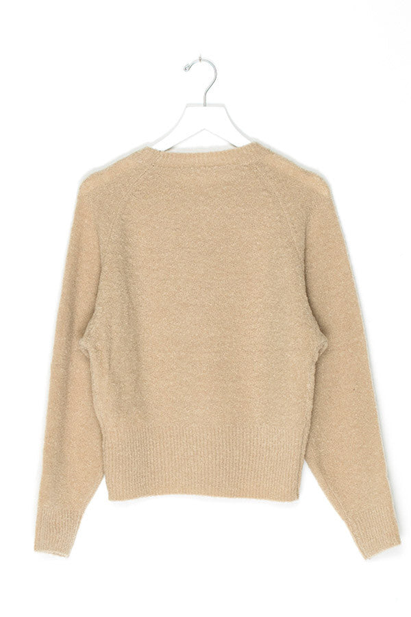 Oversized Knit Wool Sweater