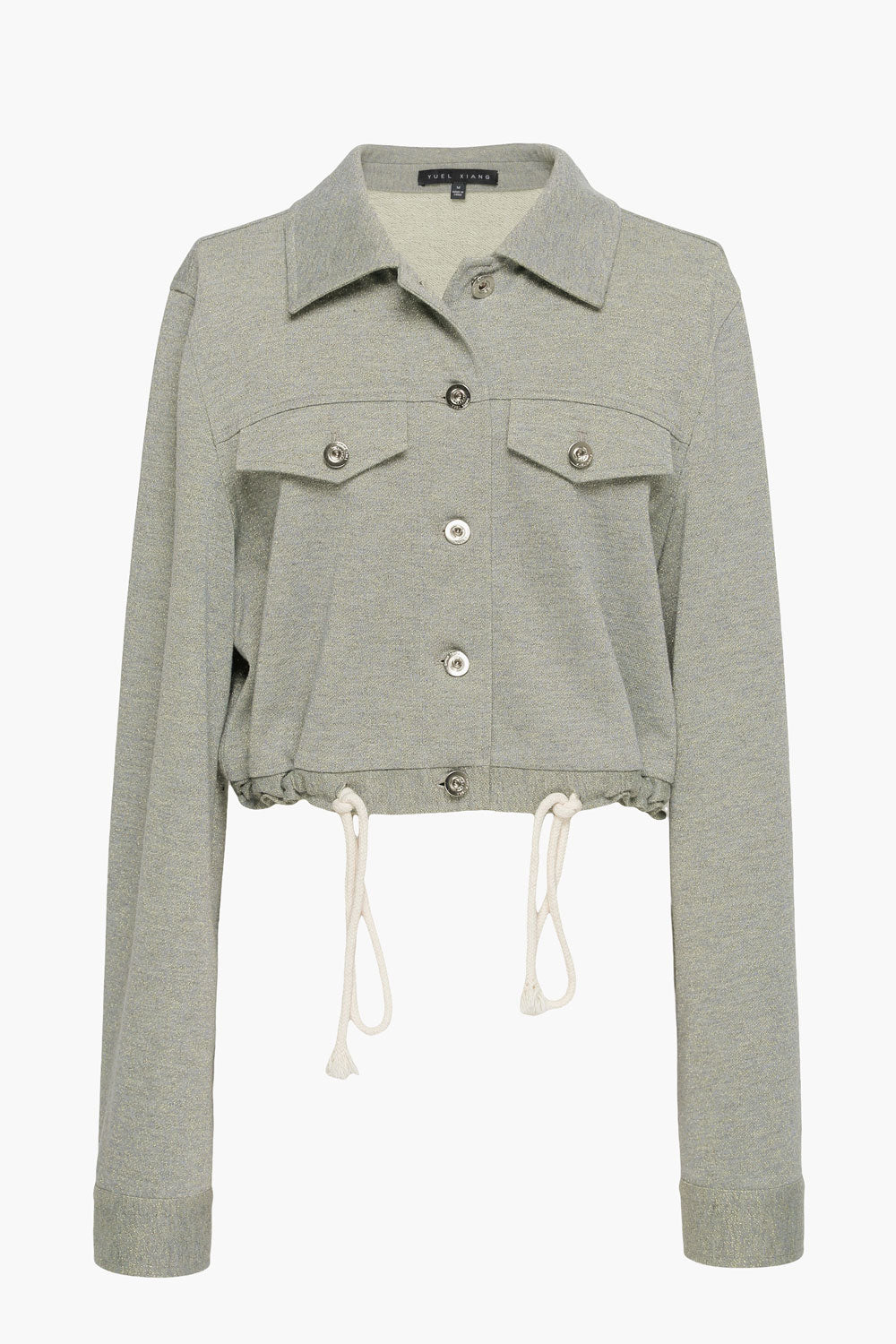 Shimmer Gold-Gray Jacket