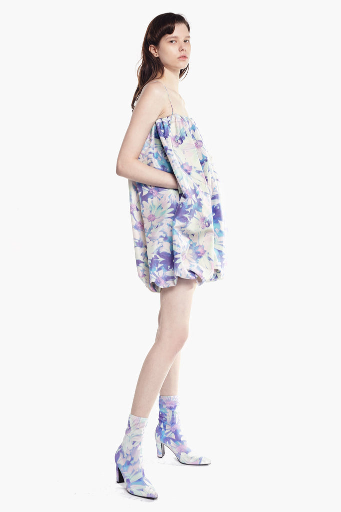 Daisy Print Sling Dress