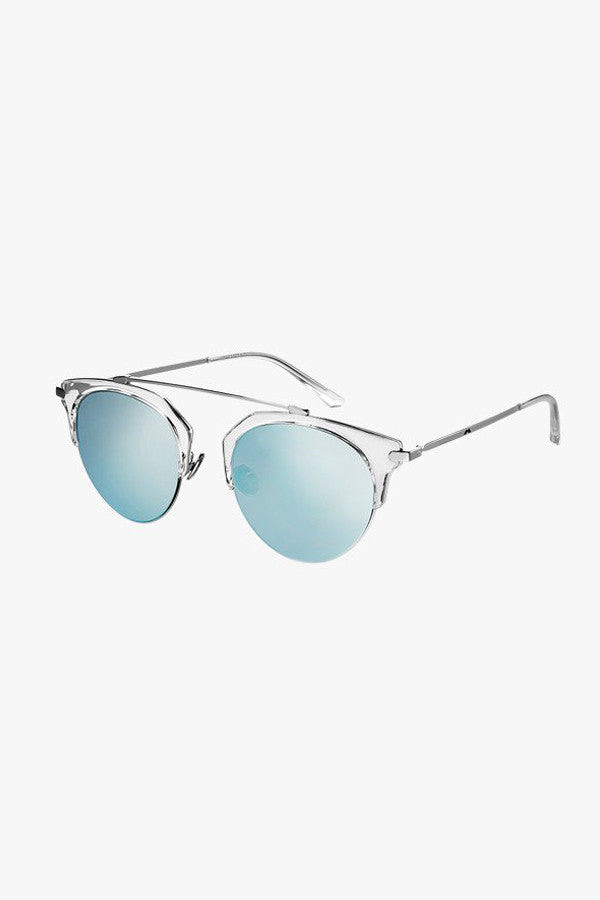 Aviator Round Sunglasses