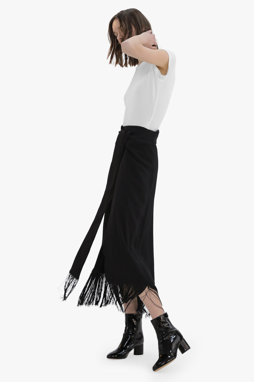 Wrap Tassel Skirt