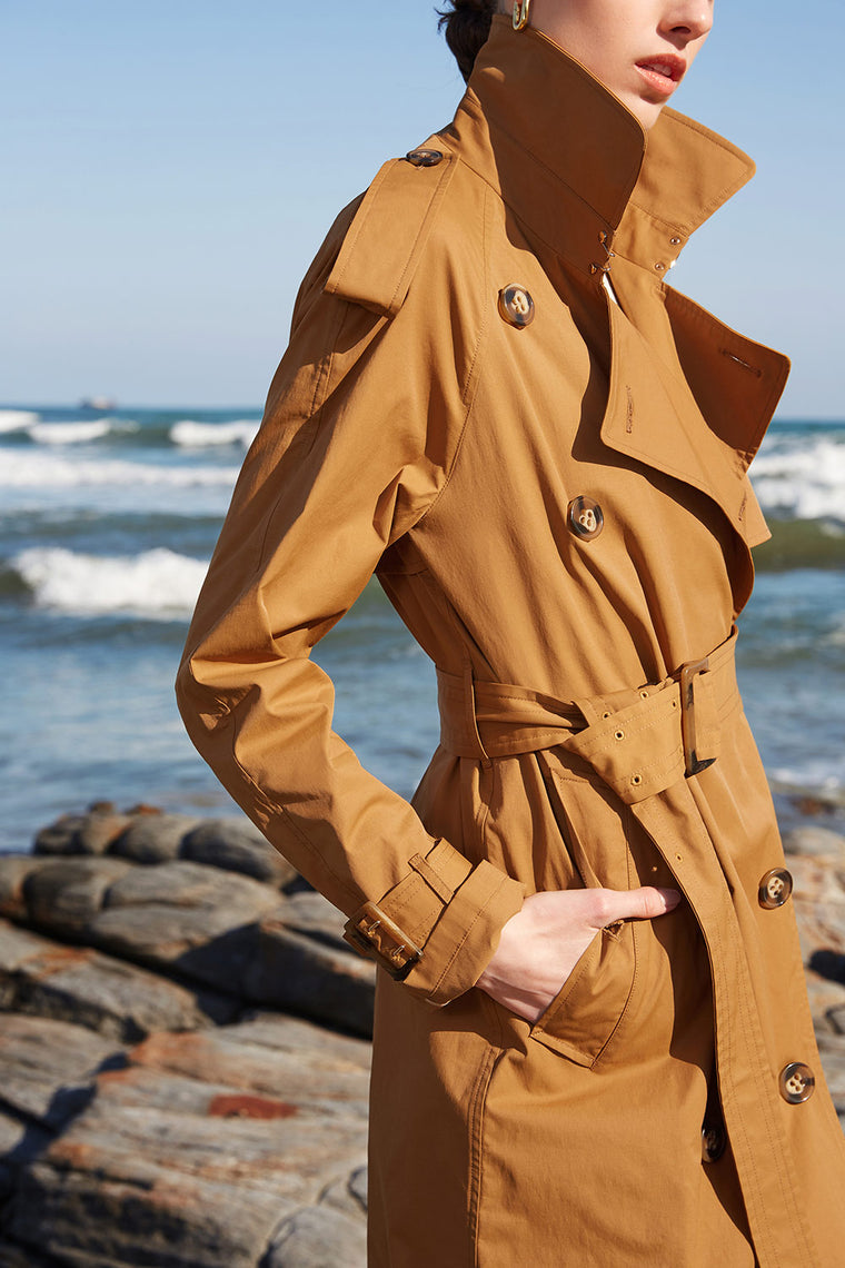 Windbreaker Trench Coat
