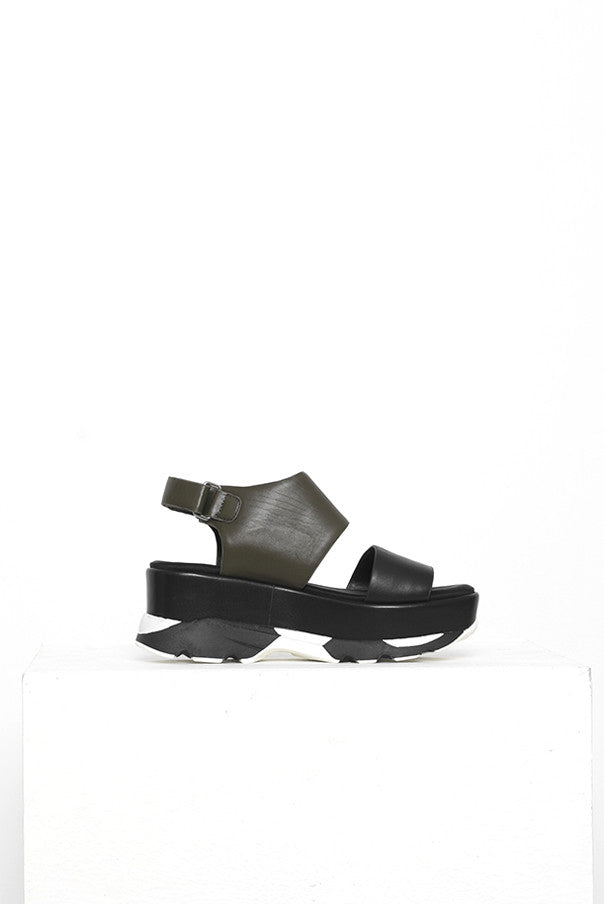 Multi Color Leather Sandals