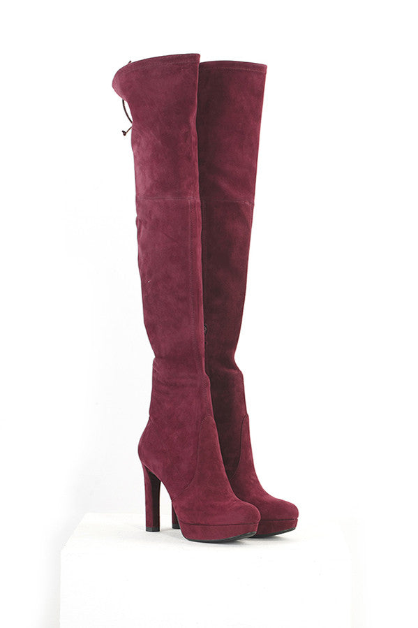 High-Heeled Over the Knee Boots