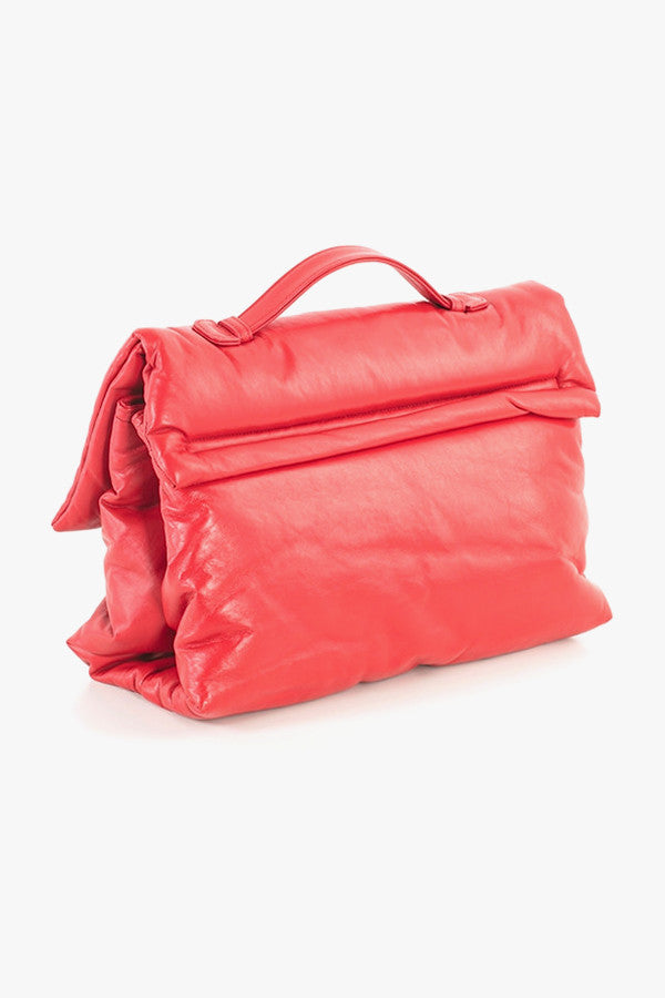 Soft Leather Pillow Bag