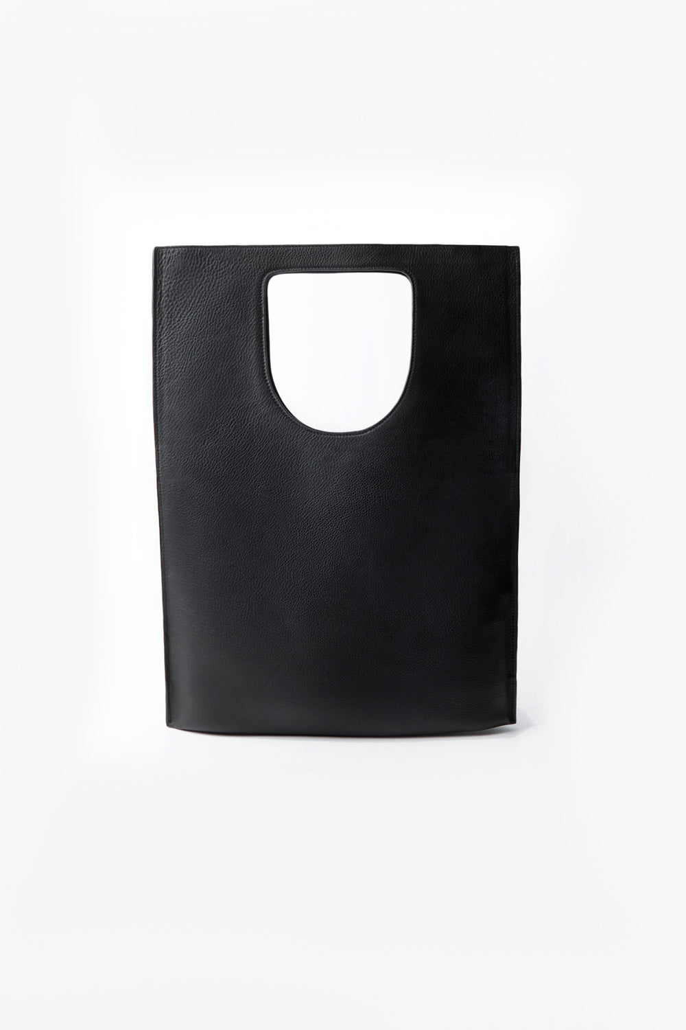 Folded Leather Bag