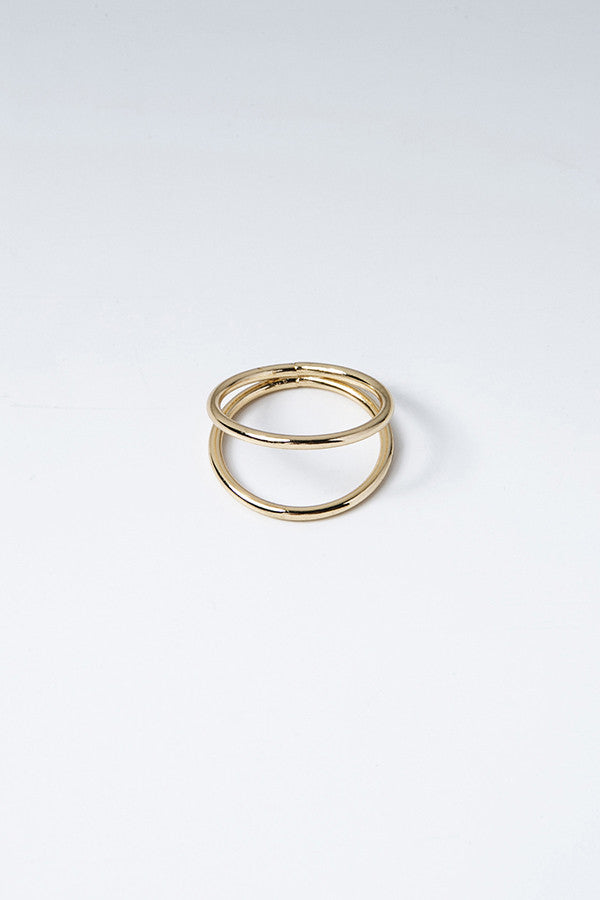 Golden Together Forever Ring