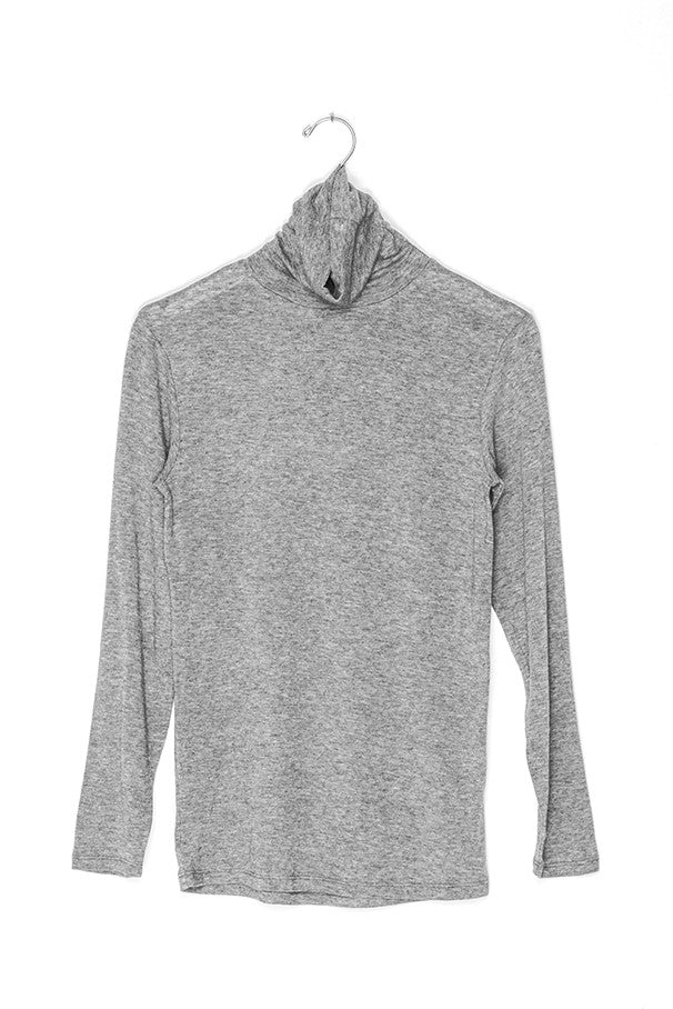 Long Sleeved Cotton Cashmere Knit Shirt