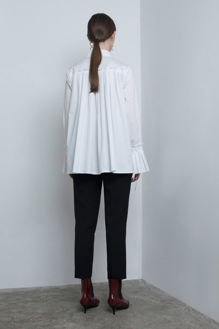 Pleated Back Shirt