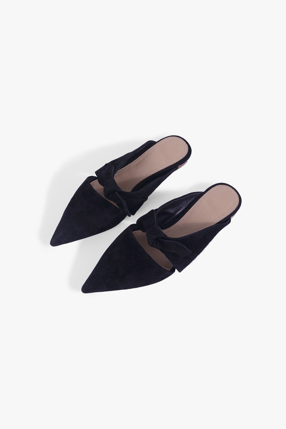 Pointed Bow Tie Flats