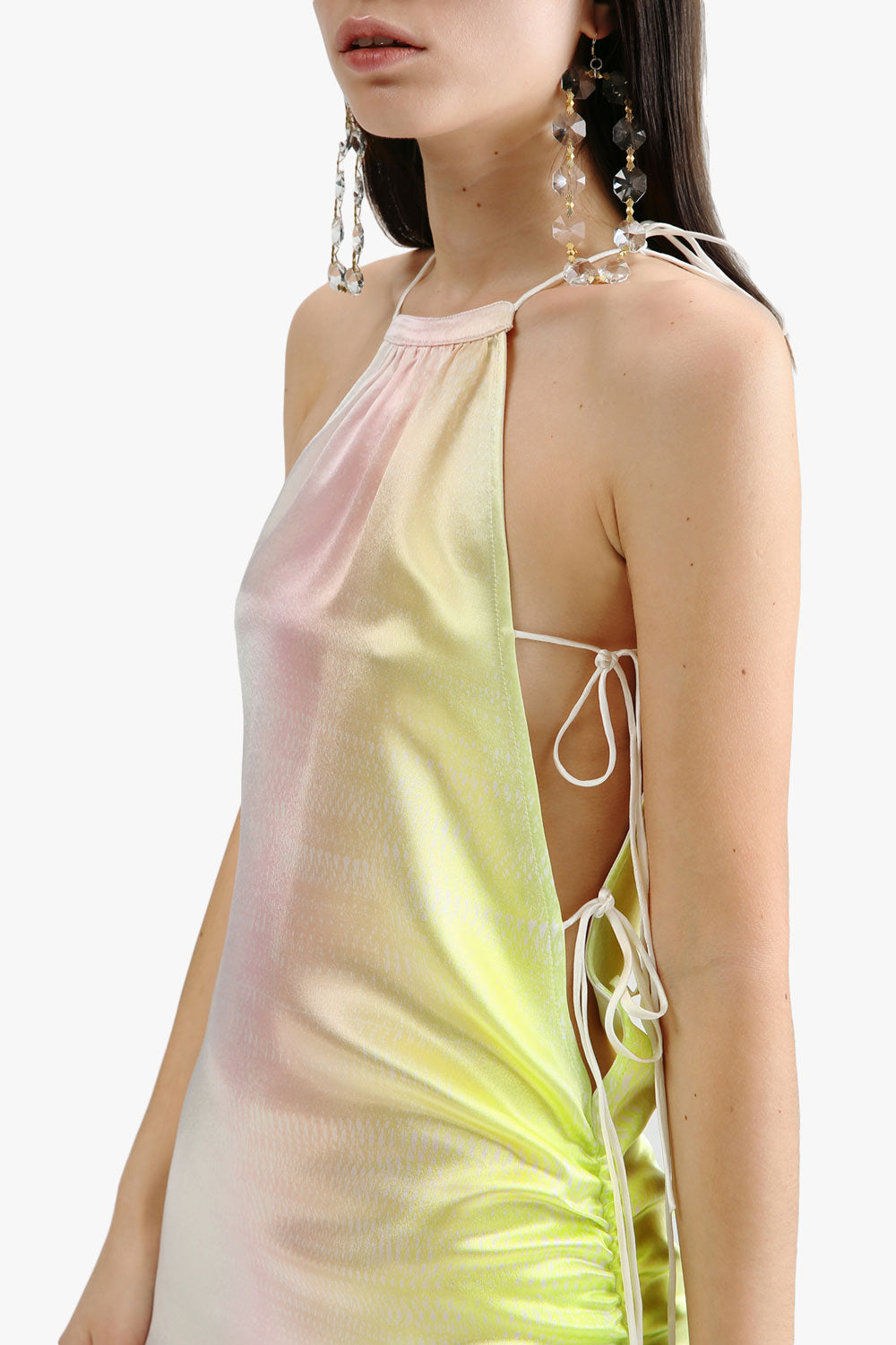 Gradient Asymmetrical Dress