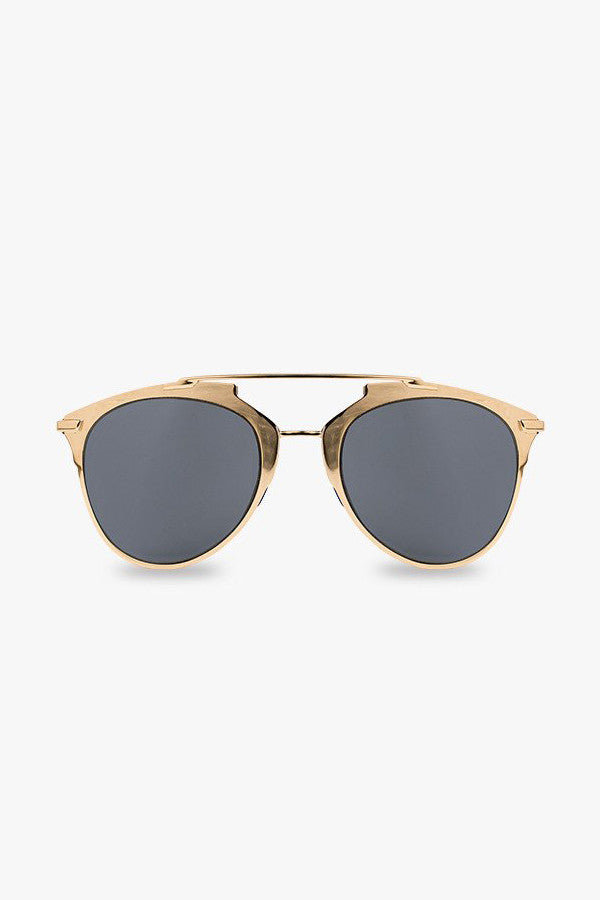 Metal Bridge Aviator Sunglasses