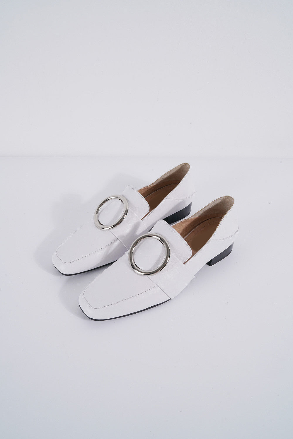 Leather Loafer Flats