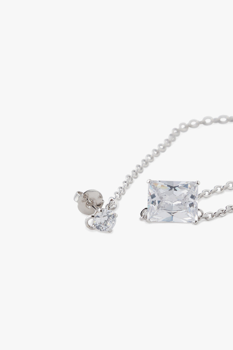 Crystal Stud and Choker