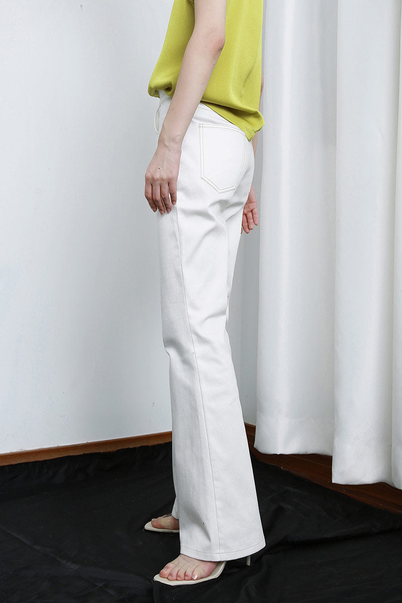 Mid-Rise Bell Bottom Jeans