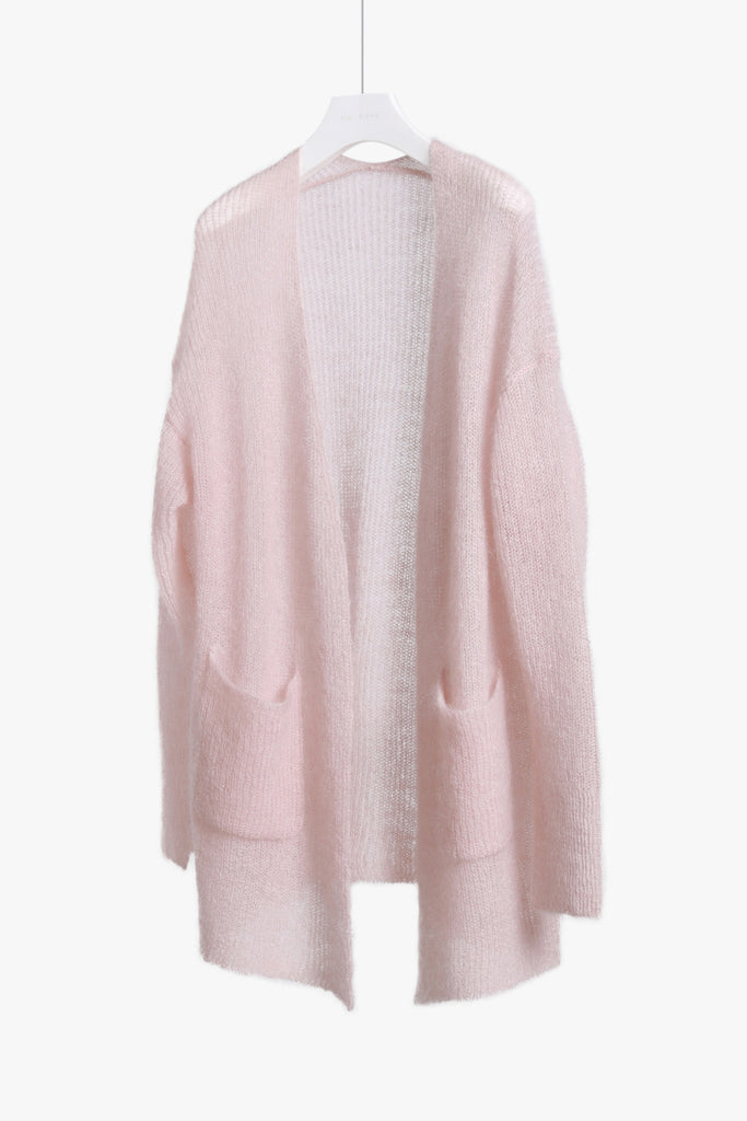Sheer Mohair Cardigan