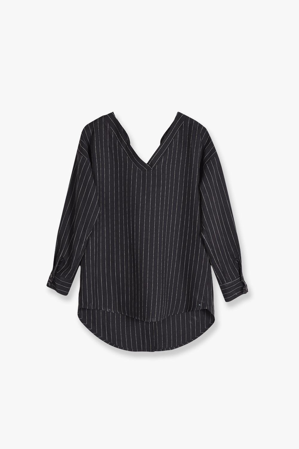 V-Neck Off Shoulder Shirt