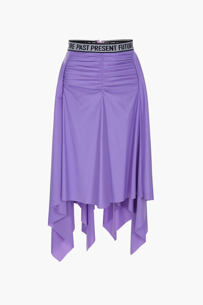 Pleated Ruffle Skirt